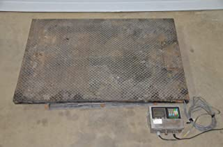 labtechsales Toledo 2155 Low Profile 48x60 Platform Floor Scale 5000LB & 8142 Indicator 120V