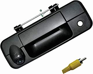 LEADSIGN Replacement Tailgate Backup Camera, Compatible for Toyota Tundra 2007-2013 (RCA Connector) photo