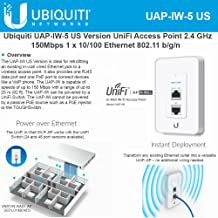 Ubiquiti Networks UAP-IW-5-US UniFi Ap, In-wall (5-Pack) WiFi Ap