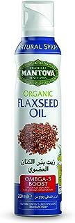 Mantova Organic Flaxeed Oil Spray, 200 ml