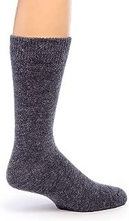 Warrior Alpaca Socks - Men's Outdoor Alpaca Wool Socks, Terry Lined with Comfort Band Opening