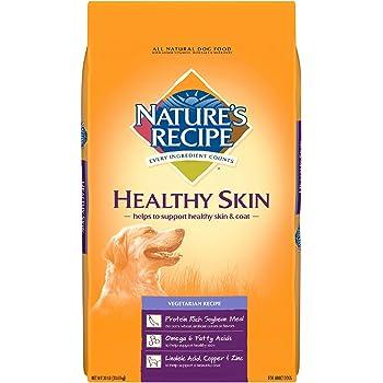 Nature's Recipe Healthy Skin Vegetarian Recipe Adult Dog Food