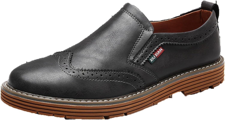Autumn Men England Casual shoes Retro shoes Korean Leather shoes