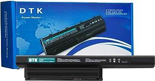 DTK VGP-BPS26A VGP-BPS26 VGP-BPL26 Batería para Sony Vaio SVE15 SVE1511C5E SVE151E11M SVE151G13M Ordenador (6 Celdas 5200mAh 10.8V Negro)