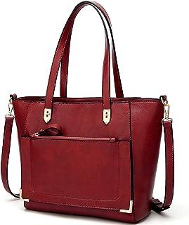 fef7942295ea Amazon.com  ynique satchel purses and handbags for women shoulder ...