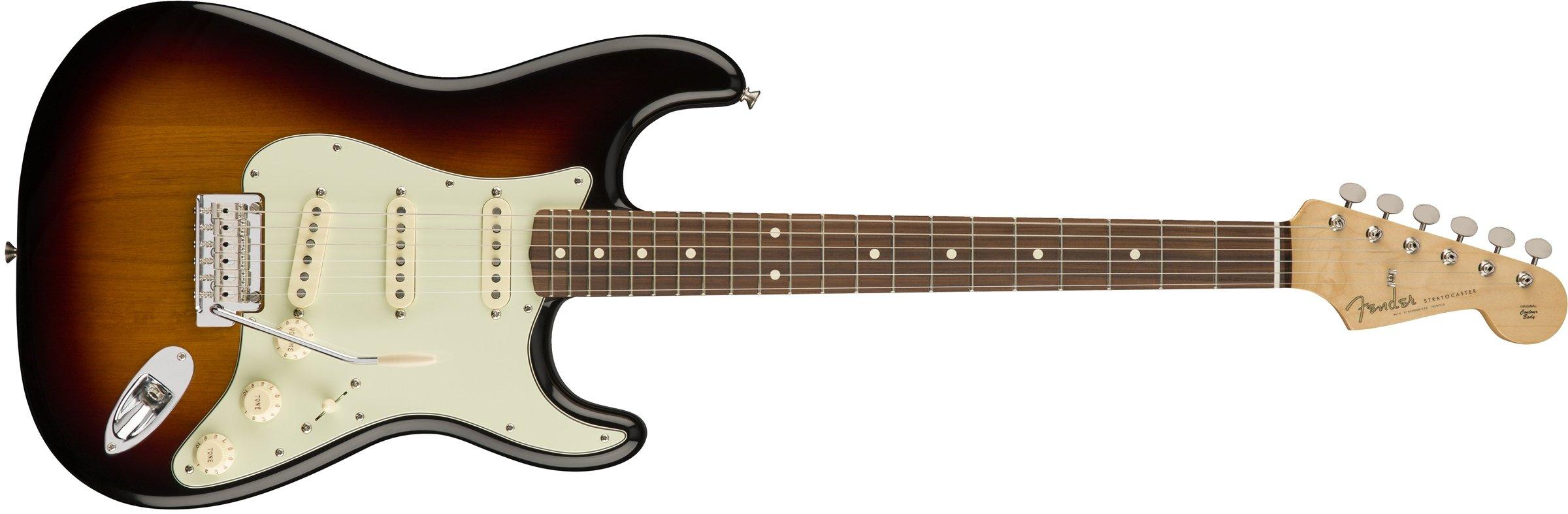 Cheap Fender Classic Player 60 s Stratocaster Electric Guitar - Pau Ferro Fingerboard - 3-Color Sunburst Black Friday & Cyber Monday 2019