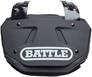Battle Back Bone Back Plate – Rear Protector Lower Back Pads for Football Players –..