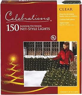 Clear Net Lights, 4' x 6', 150 Clear Net lights