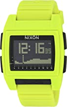 NIXON Base Tide Pro 24mm PU/Rubber/Silicone Band 30mm Face