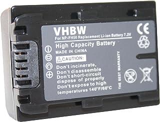 Batería para Sony DCR-SR32(E) DCR-SR35(E) DCR-SR36(E) etc. Incluye Chip de información es Equivalente a Las Originales: NP-FH40 NP-FH50