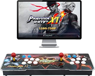 ?3003 Games in 1? Arcade Game Console ,Pandora Treasure 3D Double Stick,3003 Classic Arcade Game,Search Games, Support 3D Games,Favorite List, 4 Players Online Game,1280X720 Full HD Video Game (Black)