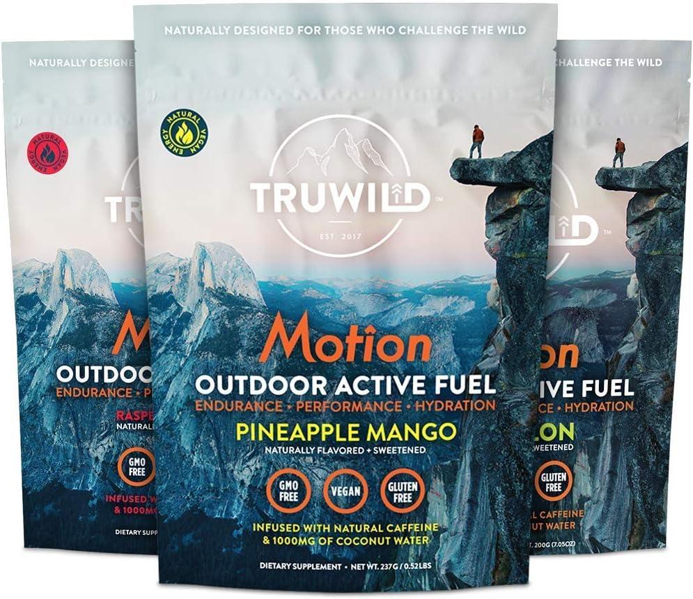 TRUWILD Motion Bundle 3 Flavors 数量限定アウトレット最安価格 - Workout Natural Pre ☆新作入荷☆新品 Powd All