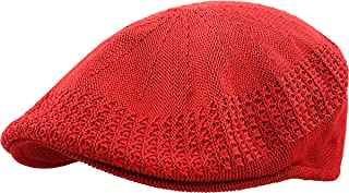 Classic Mesh Newsboy Ivy Cap Hat (21 Colors / 4 Sizes)