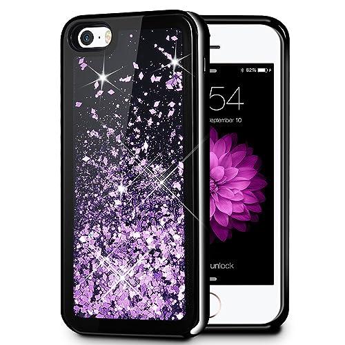 1e40b47a9 iPhone 5/5S/SE Case, Caka iPhone 5S Glitter Case [Starry Night