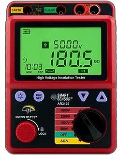 Digital Meter 500~5000V Megohmmeter High Voltage Insulation Resistance Tester AR3125, Measuring Instruments