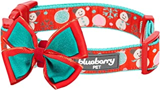 blueberry pet christmas collars