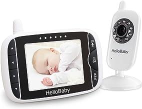HelloBaby Monitor Video sin Hilos del Bebé de con la Cá
