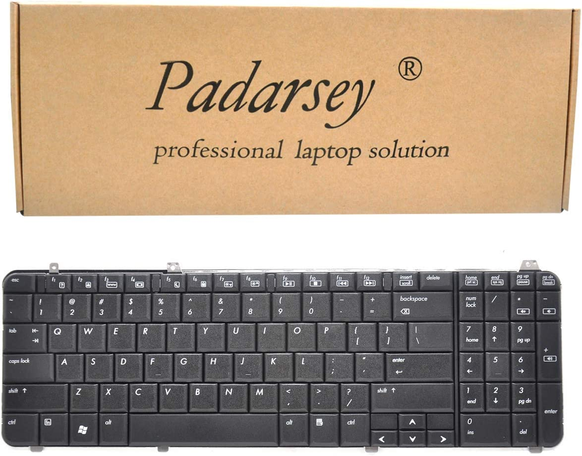 Limited price sale Padarsey Keyboard Replacement Compatible Pavilion HP with DV6-10 Philadelphia Mall