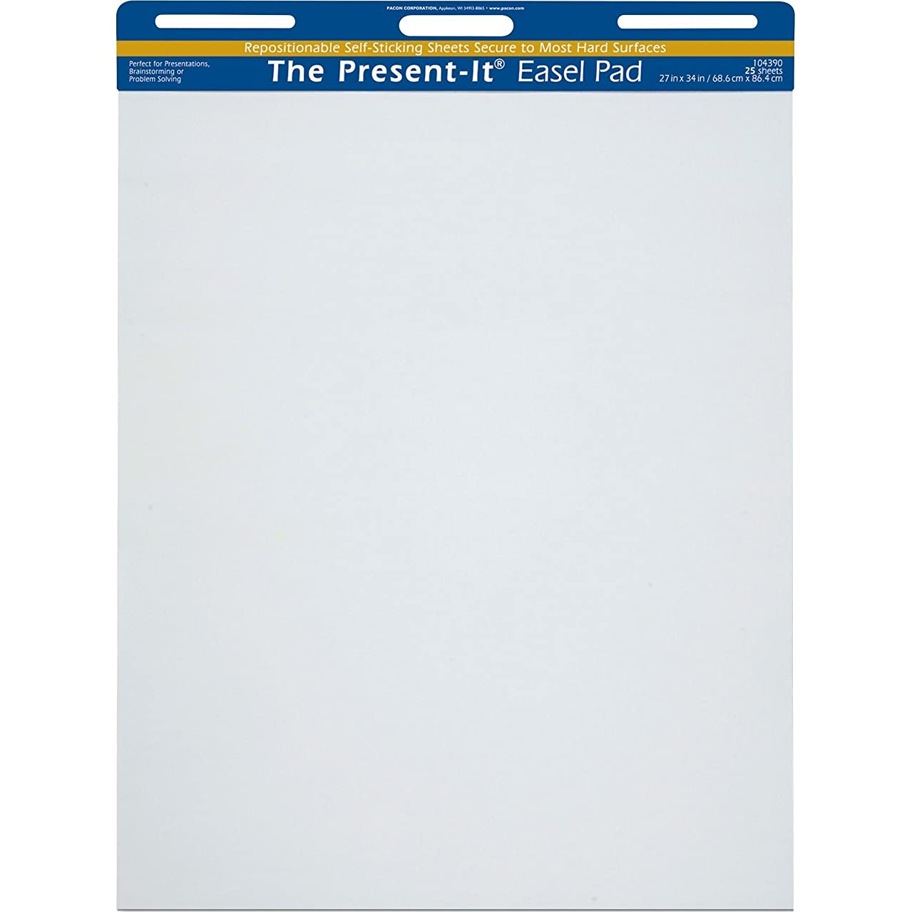 Present-It Easel Pad With Adhesive, 27