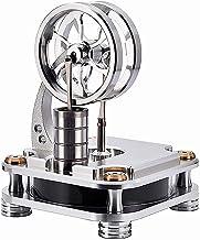 POXL Air Chaud Moteur Stirling Mod/èle Kit M/étal Stirling Engine Motor DIY Stirling Generator Mod/èle /Éducatif Jouet avec 4 Lumi/ères LED