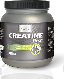 SanaExpert Creatine Pro (Creapure), sports drink for 215 servings, 100% creatine monohydrate, creatine powder, highly solu...