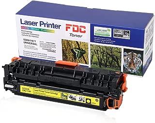 304A Toner Cc532A CRG-118 Toner Cartridge Yellow Compatible for HP Color LaserJet Cp2025dn Cp2025n CP2025x CP2025 Cm2320fxi Cm2320n CM2320nf, Canon ImageCLASS MF726Cdw LBP7660Cdn 2,800 Pages