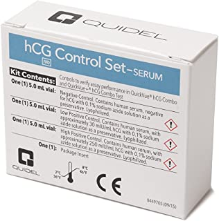 QuickVue hCG Serum Control Set