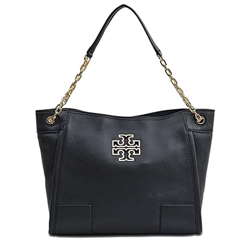 0550dc6ebbd Tory Burch Britten Small Slouchy Tote Bag In Black 8170