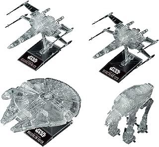 Star Wars: The Last Jedi 1/144 & 1/350 & 1/540 Clear Vehicle Set,Bandai Spirits VM