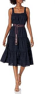 Women's Sleeveless Eyelet Dress