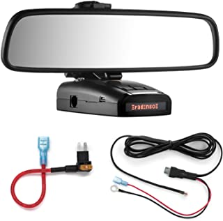 Radar Mount Mirror Mount + Direct Wire Power Cord + Micro2 Fuse Tap for Radenso XP and SP (3001610R)