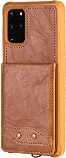 PU Leather Flip Cover Compatible with iPhone X, Elegant brown Wallet Case for iPhone X