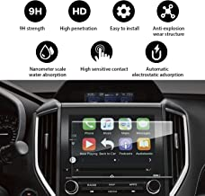 YEE PIN Control Touch Screen Car Navigation Tempered Glass Screen Protector for 2017 2018 Subaru Impreza Starlink 8Inch, Tactile Silky Slippage Scratch Resistant Anti-Explosion