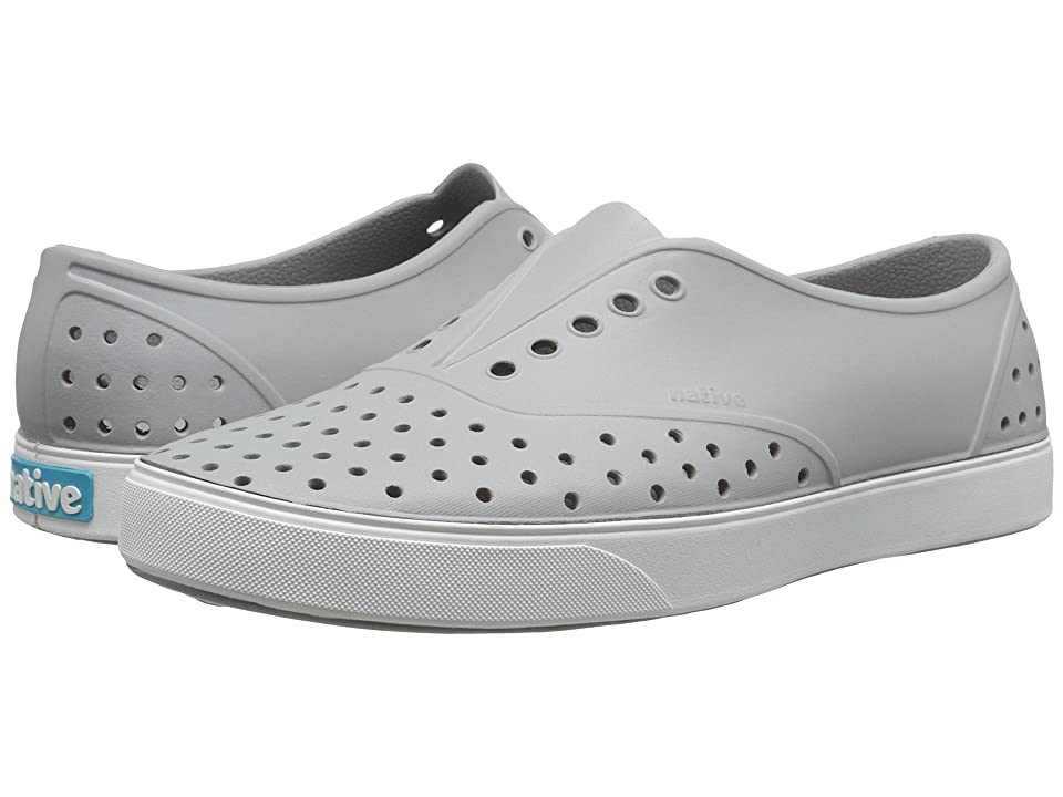 Native Shoes Miller (Pigeon Grey/Shell White) Slip on Shoes