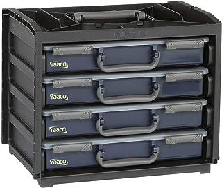 MM Spezial - Organizador de herramientas con 4 compartimentos, color azul