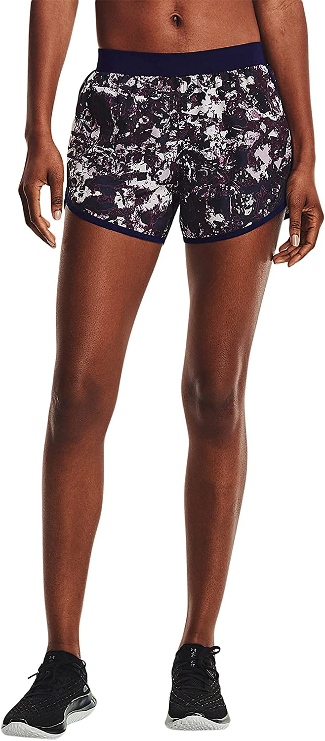 Under Armour Women's Fly By Running Printed 2.0 Washington Mall Shorts Today's only