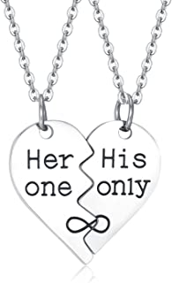 Best her one his only necklace Reviews