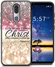 for Coolpad Legacy Case (Not Go Version) Rose Pink Silver Glitter Pattern, ABLOOMBOX Shockproof Slim Thin Anti-Scratch Flexible Bumper Case for Coolpad Legacy Phone Case