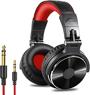OneOdio Over Ear Headphone, Wired Bass Headsets with 50mm Driver, Foldable Lightweight..