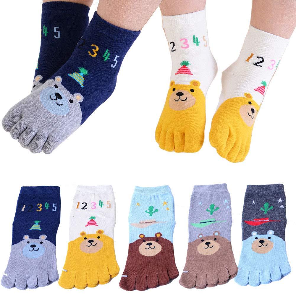 Deer Mum Boys Cartoon Car Pattern Knee High Cotton Socks SOCKS-BOY-CAR
