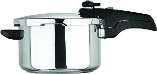 Prestige Smartplus - Olla a presión (Acero Inoxidable, 6 L), Acero Inoxidable, Metalizado, 4 L