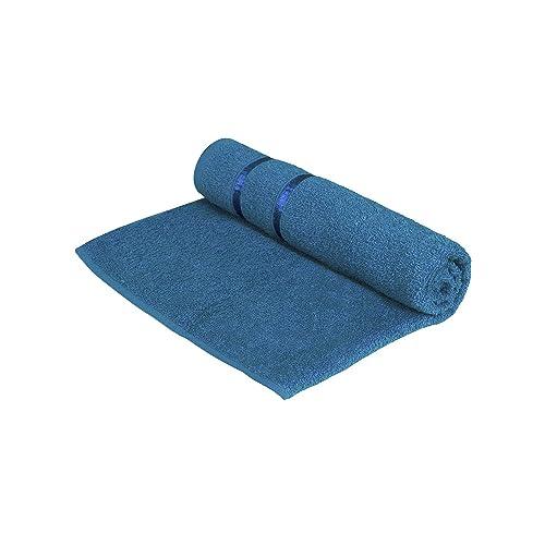 Story@Home Sensational 100% Cotton Soft Bath Towel Single Piece, 450 GSM - Men and Women Bath Towel -Navy Blue