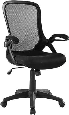 Modway Assert Mesh Adjustable Swivel Computer Desk Office Chair In Black