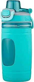 bubba Flo Kids Water Bottle with Silicone Sleeve, 16 oz., Aqua