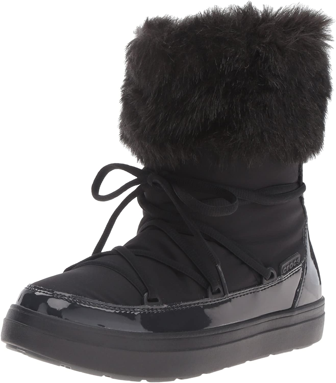 Crocs Women's Lodge Point Lace Snow Boot