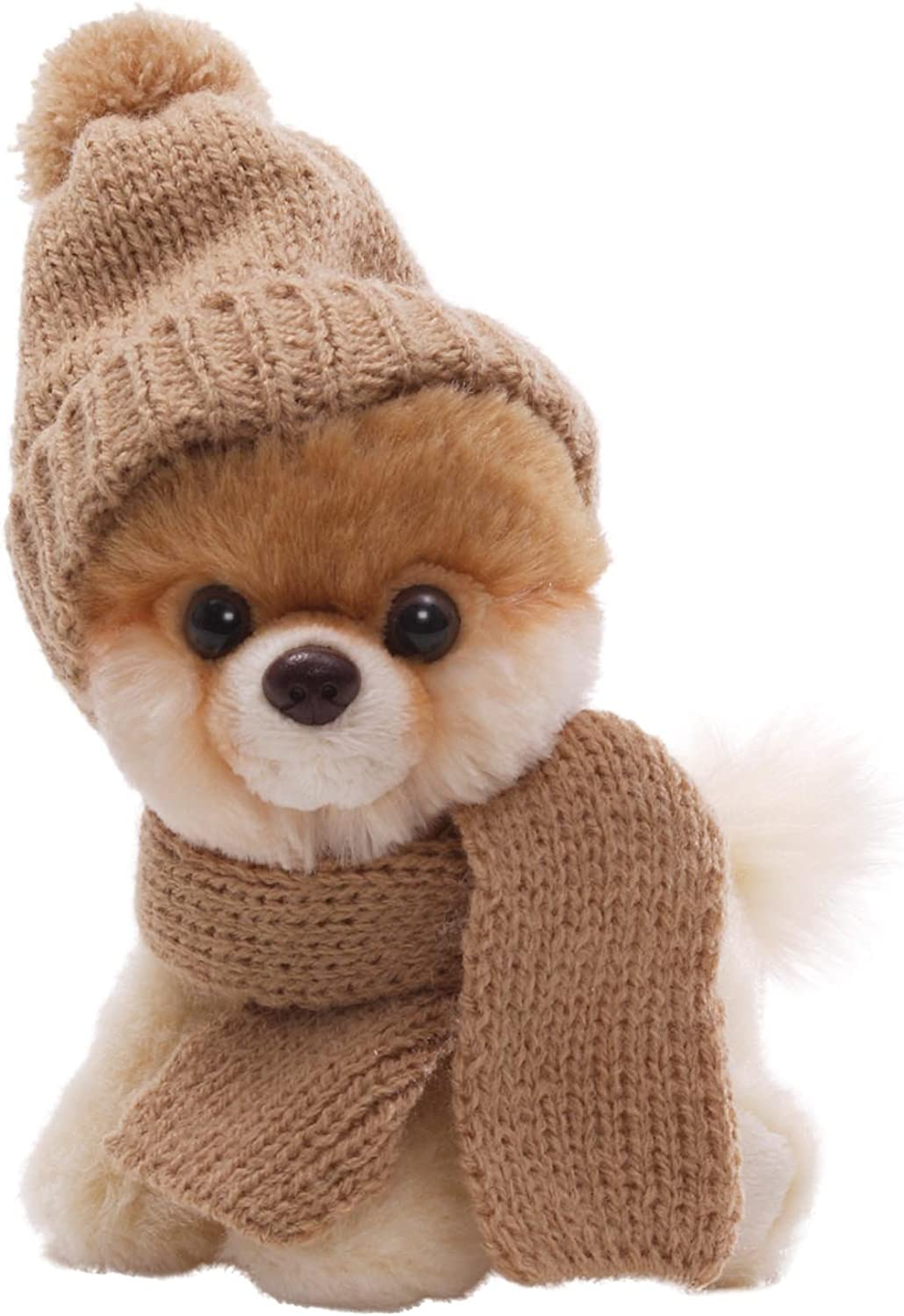 Gund 5  Itty Bitty Boo in Knit Scarf and Cap Plush