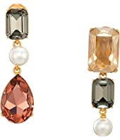 Oscar de la Renta - Bold Crystal Earrings