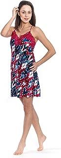 Women's Sleepwear Nightgown One-Piece Nightwear Soft Lightweight Comfortable Nightshirt for Women