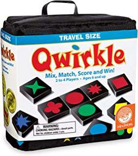 MindWare Travel Qwirkle Board Game