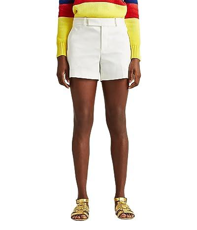 LAUREN Ralph Lauren Double-Faced Stretch Cotton Shorts